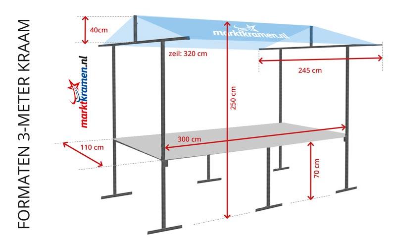 marktkramen huren marktkramen. Black Bedroom Furniture Sets. Home Design Ideas